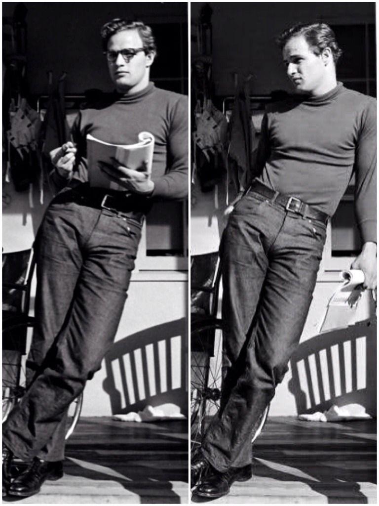 "Marlon Brando for ""The Men"", 1950."