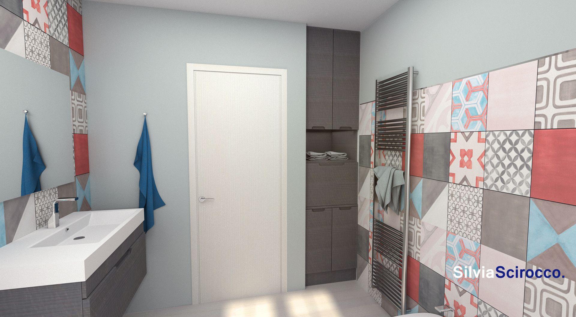 Mobile lavanderia su misura nasconde la lavatrice e ha un cassetto a ribalta per i panni da - Mobili lavanderia su misura ...