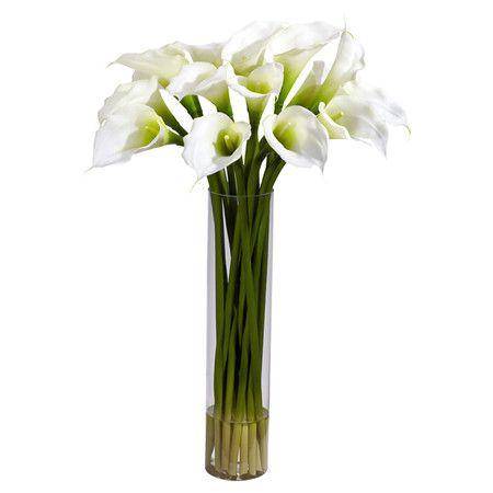 Arreglo Floral De Lirios Cala Silk Calla Lilly Arrangement