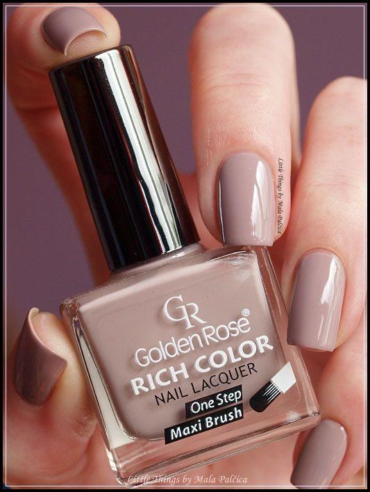 Golden Rose Rich Color 120 Más Nail Polish