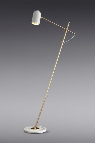 Buy Marble And Brass Task Floor Lamp from the Next UK online shop ...