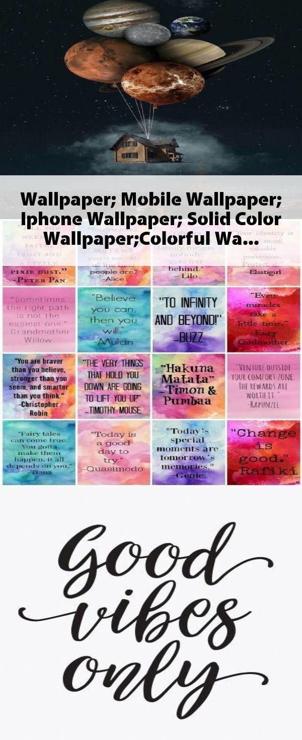 Photo of Tapete; Mobile Wallpaper; IPhone Hintergrundbild; Einfarbige Tapete; Bunte … -…