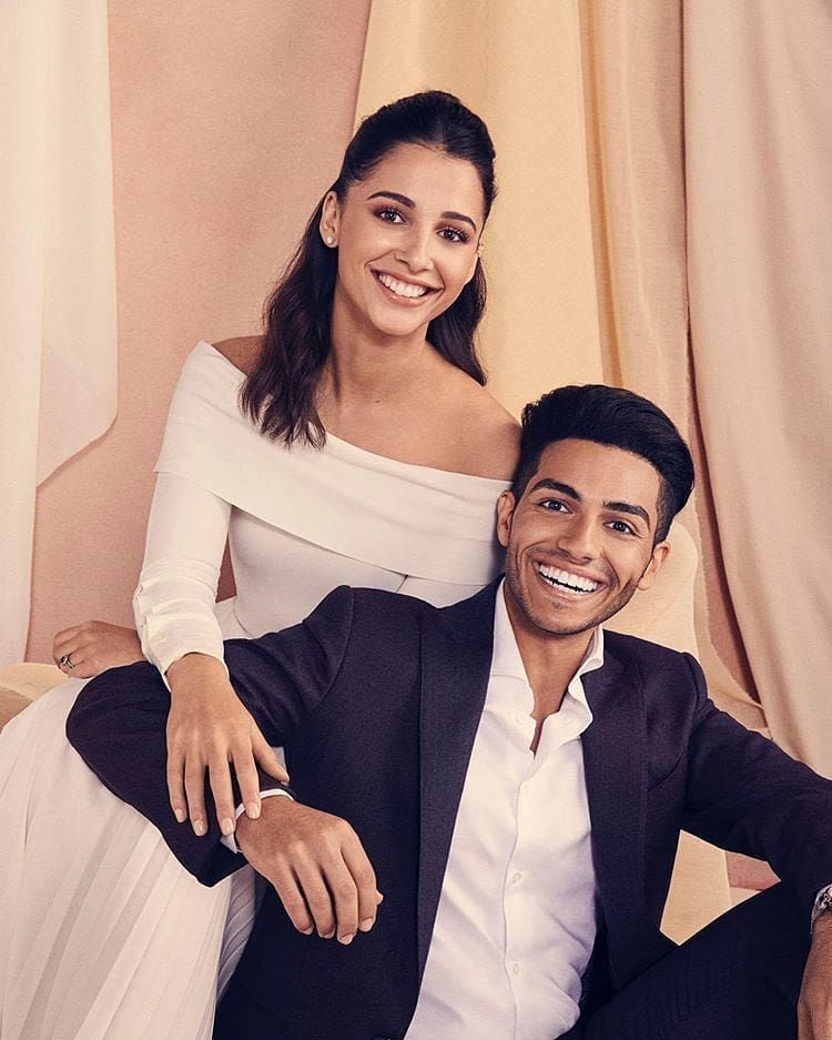 All About Love Mena Massoud And Naomi Scott My Favorite Picture