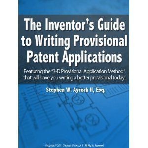 The Inventor's Guide to Writing Provisional Patent Applications (Kindle Edition)  http://like.best-hometheaters.com/redirector.php?p=B005CDME3G  B005CDME3G
