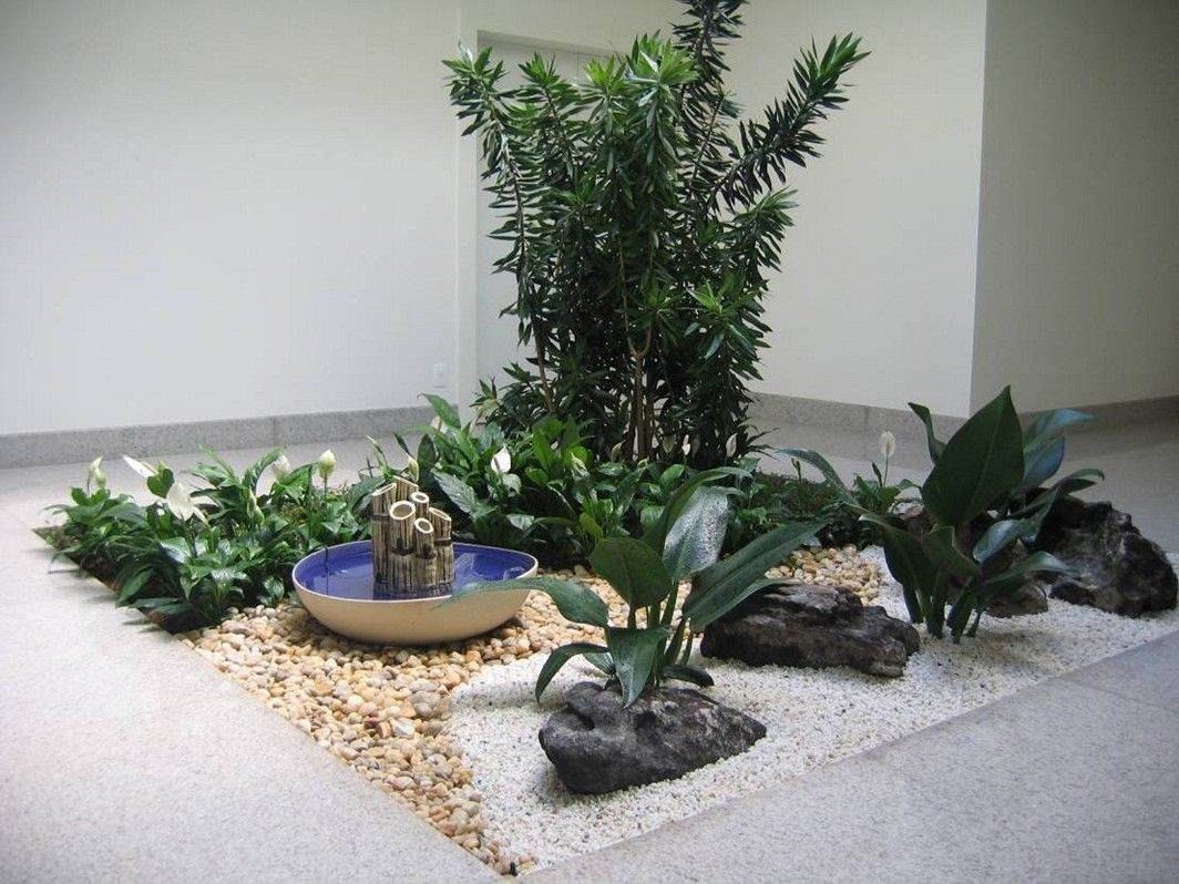 indoor rock garden ideas