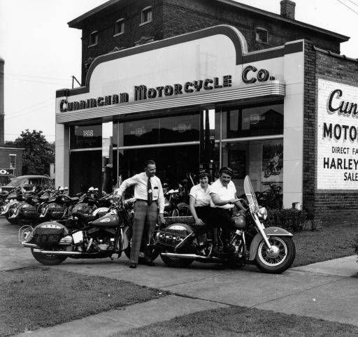 Harley Davidson Louisville Ky >> 1950 Cunningham Motorcycle Co 1818 W Broadway