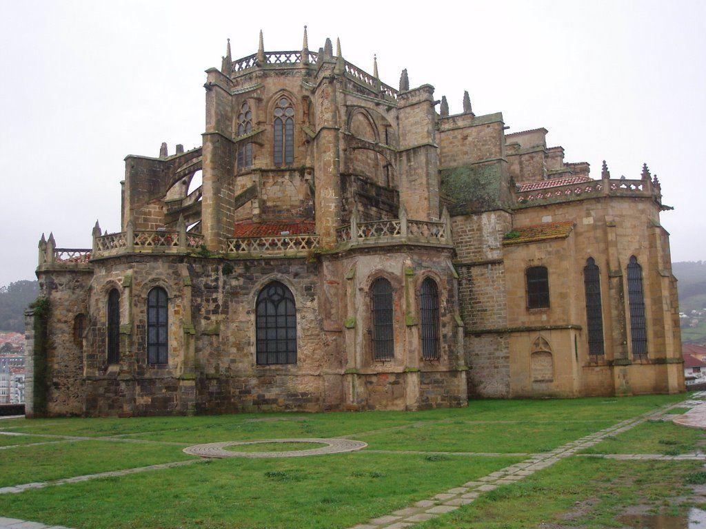 Cantabria Iglesia Fortaleza De Castro Urdiales Cantabrie L Eglise Forteresse De Castro Urdiales Http Es Wikipedia Org Wiki Catedral Templos Religioso