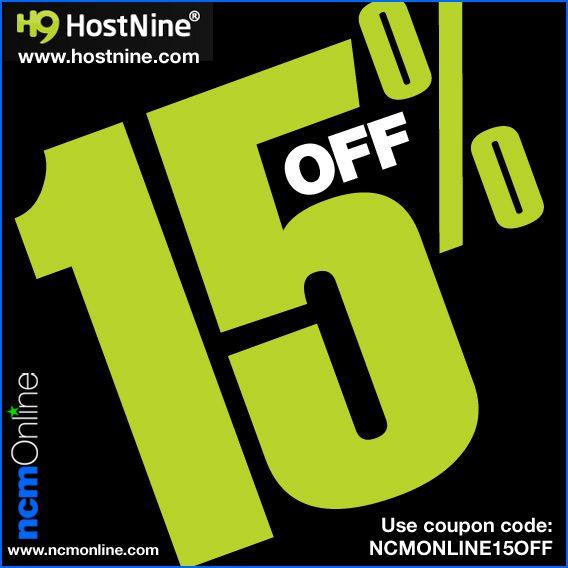 Hostnine Promo Code Ncm Online Coding Web Hosting Coupon Promo Codes