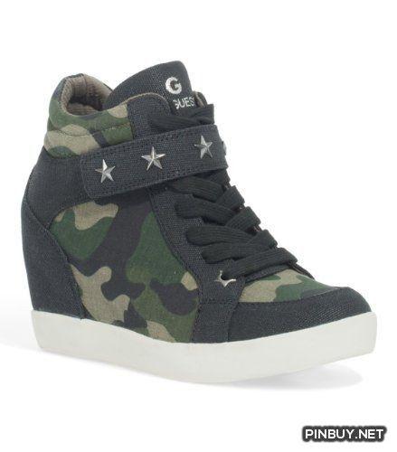 ab92a1dfc569 G by GUESS Women s Phoenix Wedge Sneaker