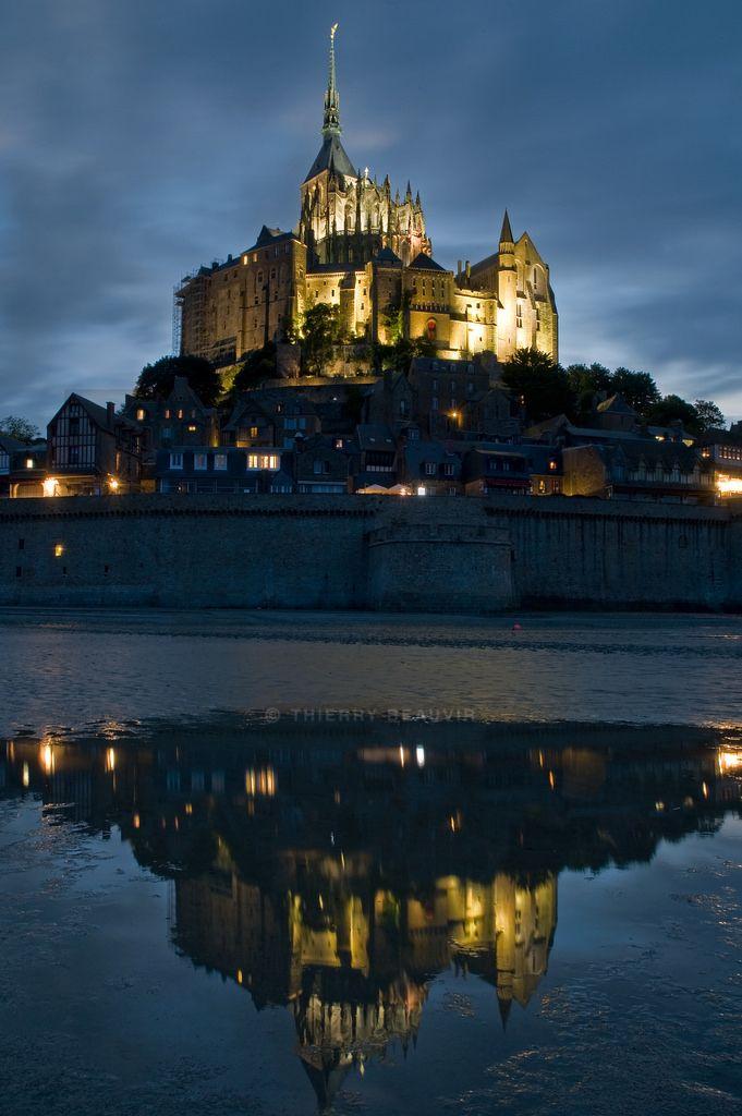 """France - Manche - Normandie - Le Mont Saint-Michel """"La Merveille"""""""