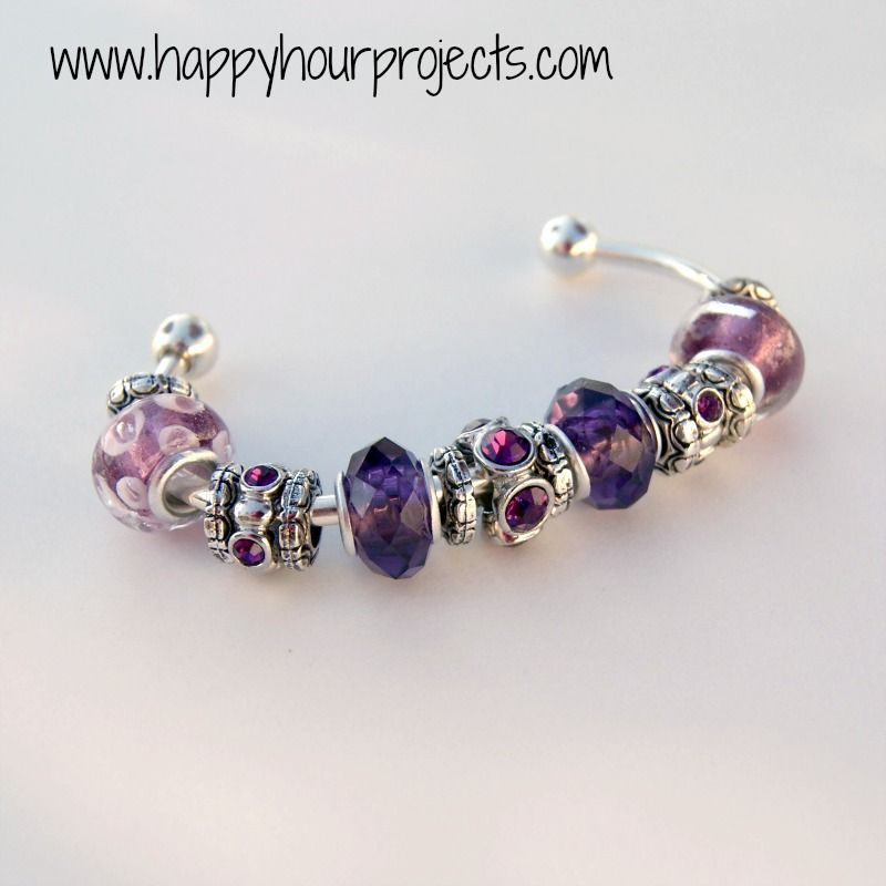 Hy Hour Projects Diy Pandora Bracelet Knockoff For Me Or My Daughters Would Make A Great Christmas Birthday Gift Them