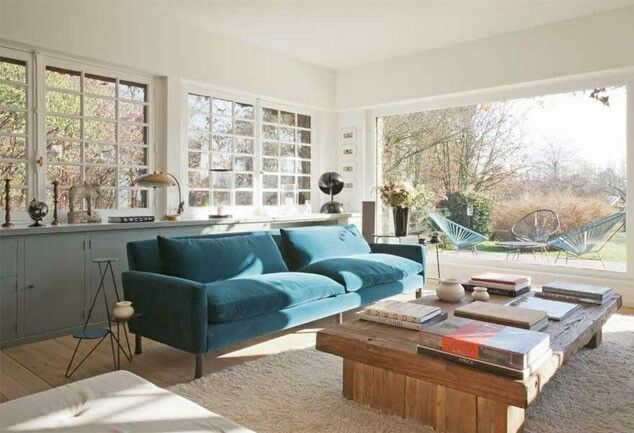 Osez une déco couleur bleu canard dans votre intérieur | Salons ...