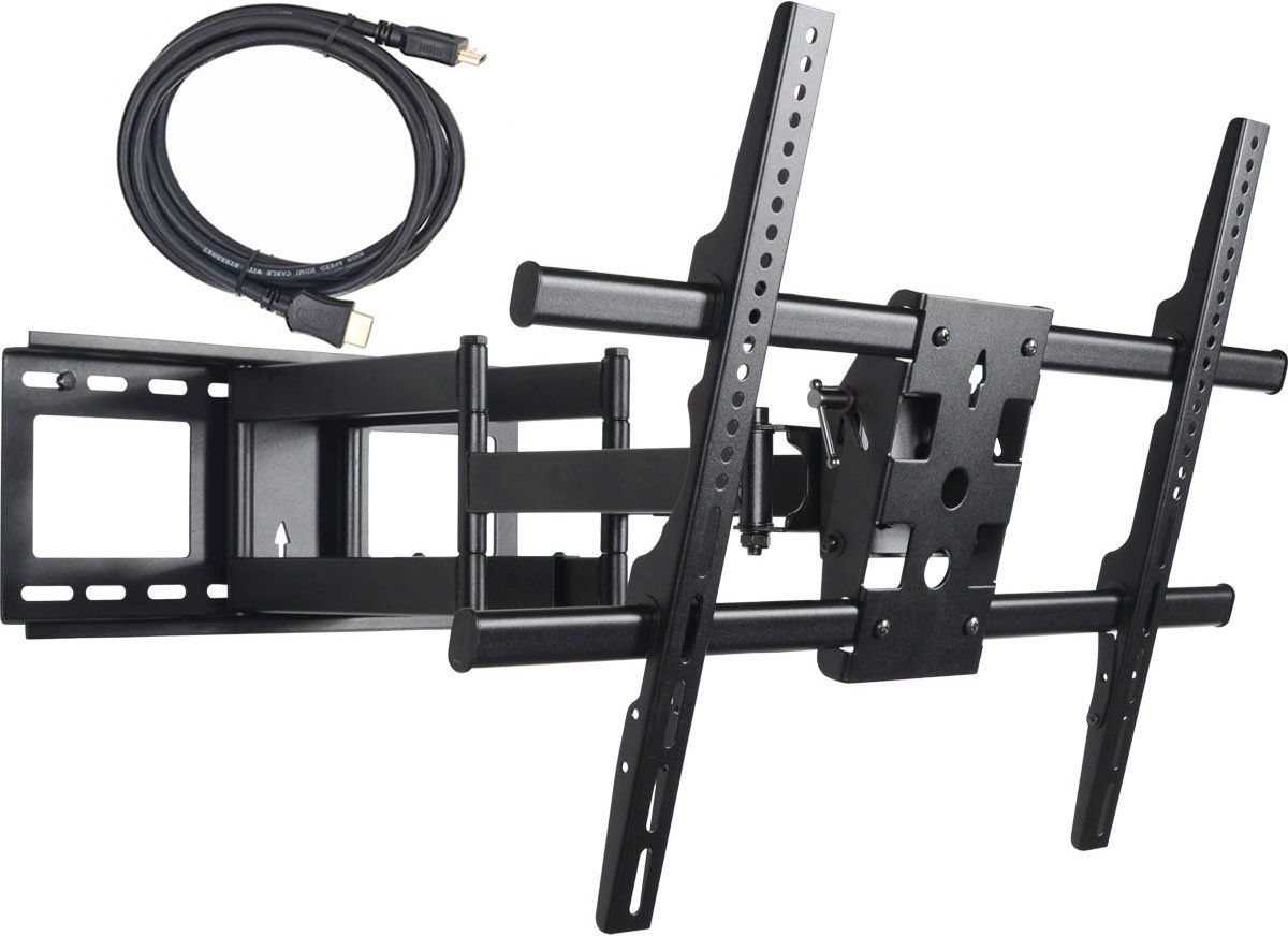 videosecu mw380b dual arms tv wall mount bracket for 32 70 on wall brackets id=71226