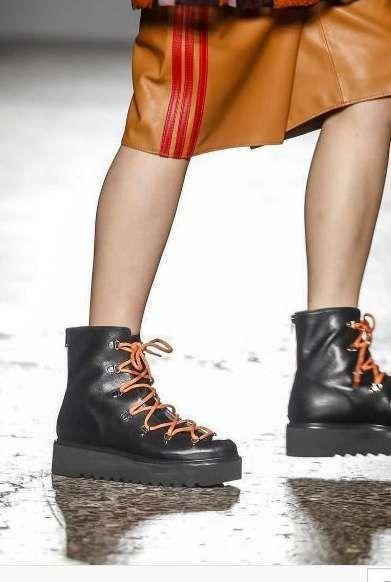 Scarpe Autunno Inverno 2017 2018 dalla Milano Fashion Week