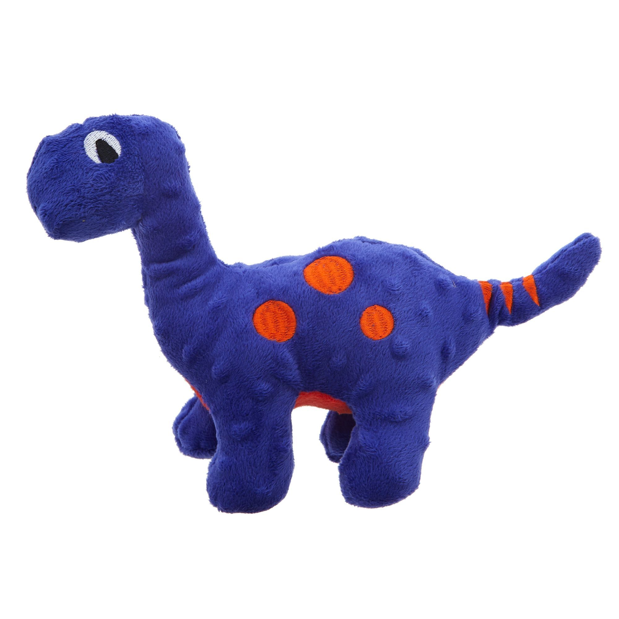 Top Paw Tuff With Bite Shield Protection Dinosaur Dog Toy Plush