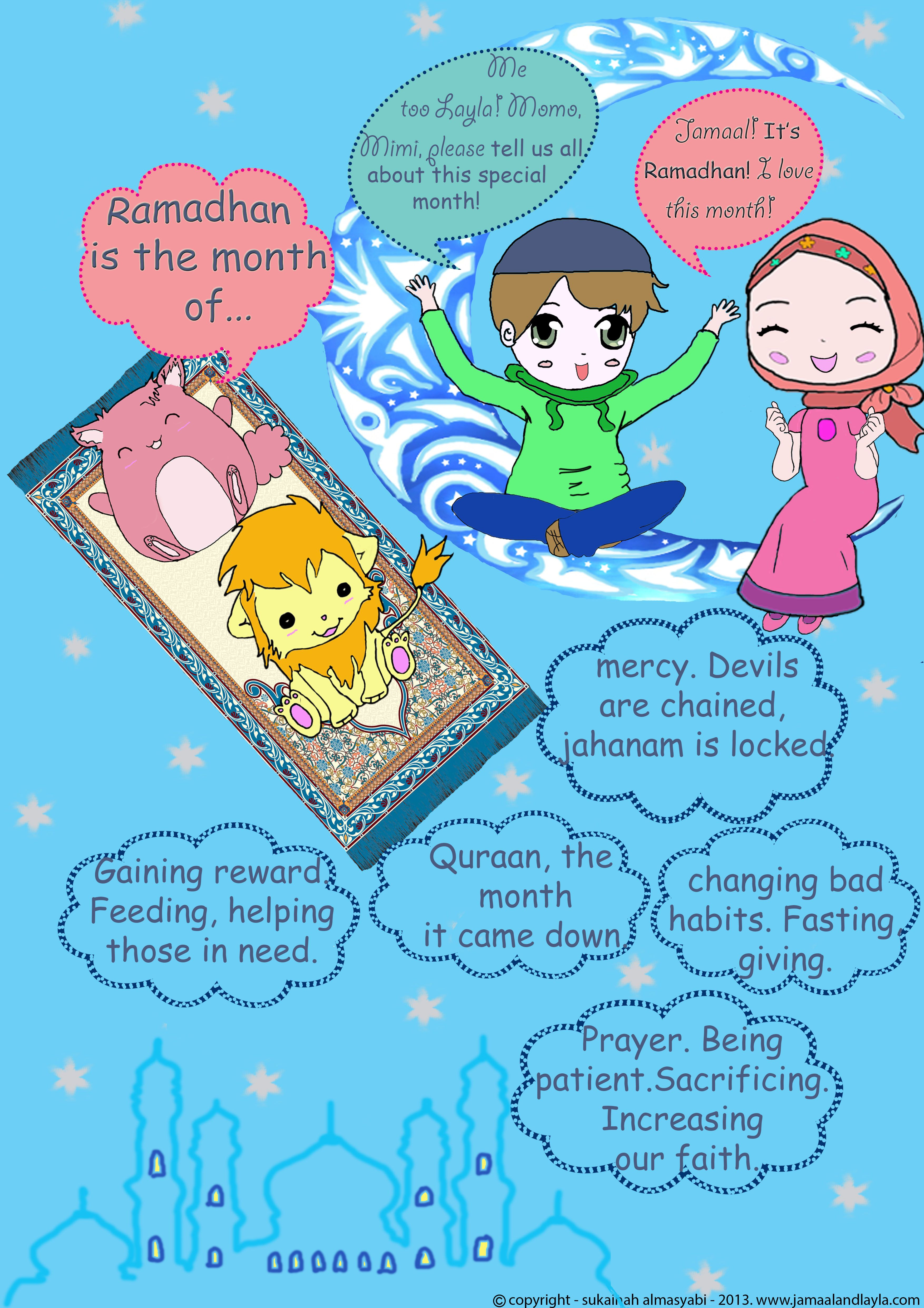 Tips On Sharing The Joy Of Ramadan With The Kids