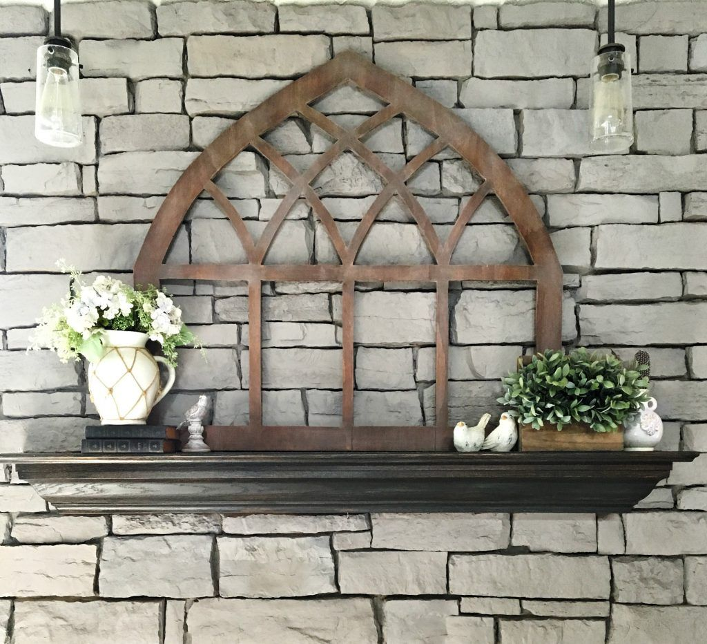 Diy Gothic Cathedral Window Frame Fixer Upper Inspired Cathedral Windows Handmade Home Decor Woodworking Plans Patterns