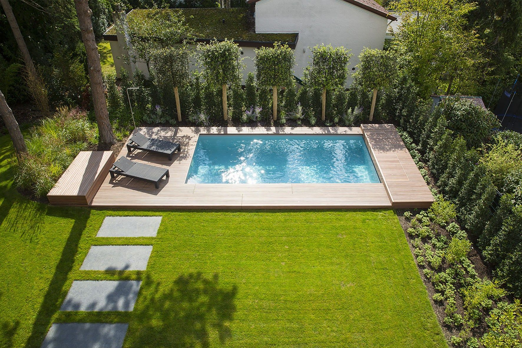 27 Small Pool Ideas to Freshen your Summer (Inground, Above ground