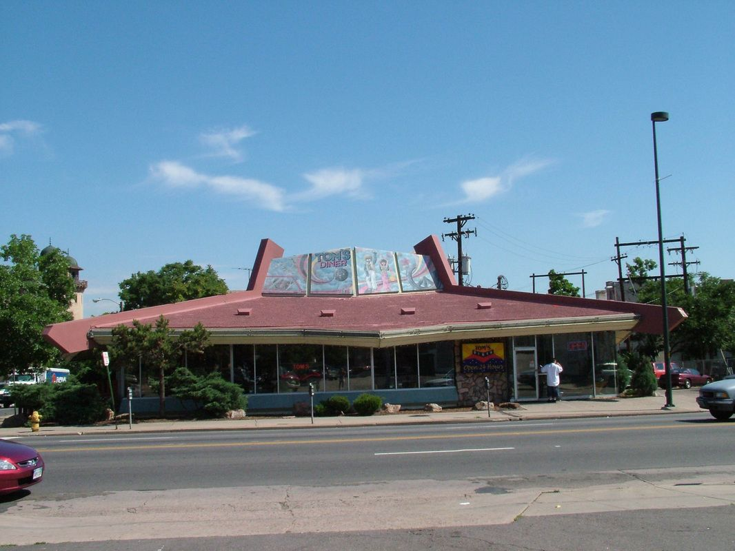 This Used To Be A White Spot Restaurant In Denver And One Of The Best Late Night Hangouts When I Was A Teenager Restaurant White Spot Hometown
