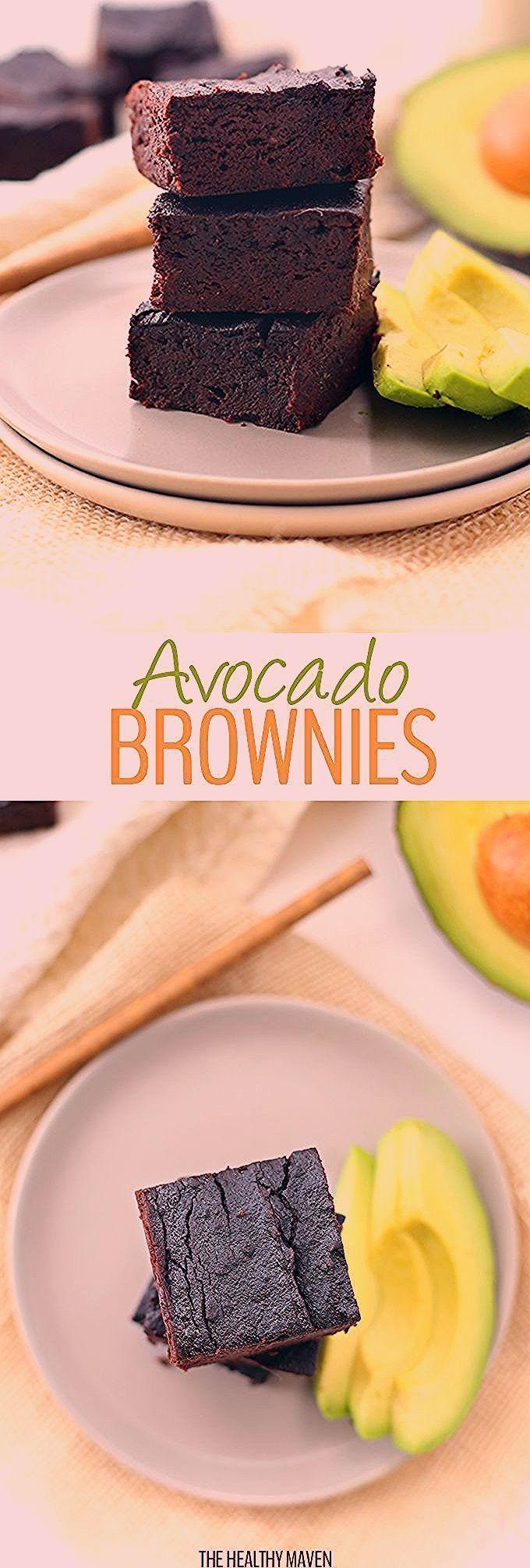Photo of Healthy Avocado Brownies – The Healthy Maven