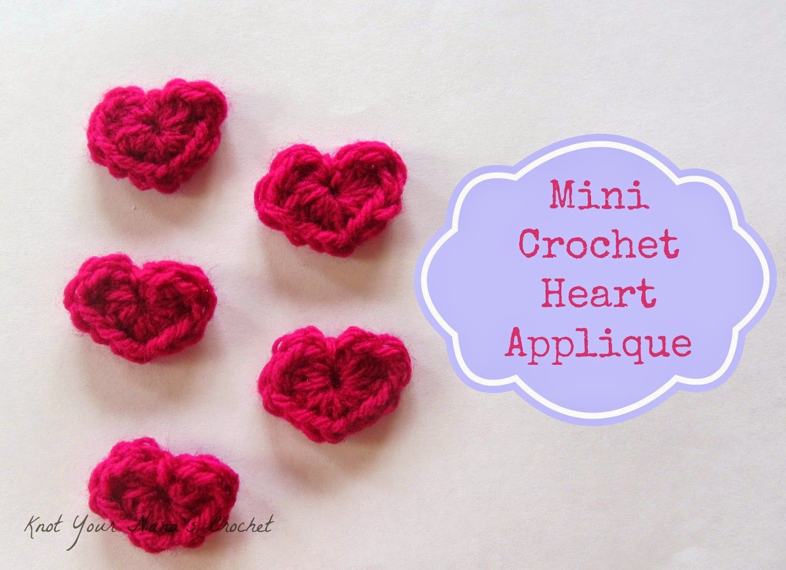 Mini crochet hearts pattern by kyncrochet use them to create mini crochet hearts pattern by kyncrochet use them to create accessories or embellish a bankloansurffo Images