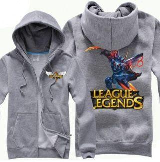 League of Legends Mecha Kha'Zix skin hoodie for men plus size long sleeve sweatshirt