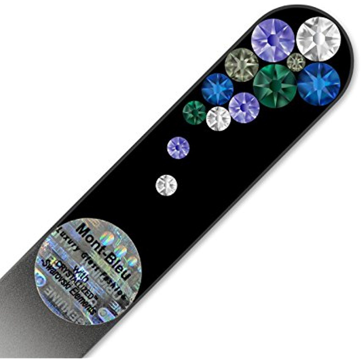 Purse Size Glass Nail File Hand Decorated with Swarovski Elements ...