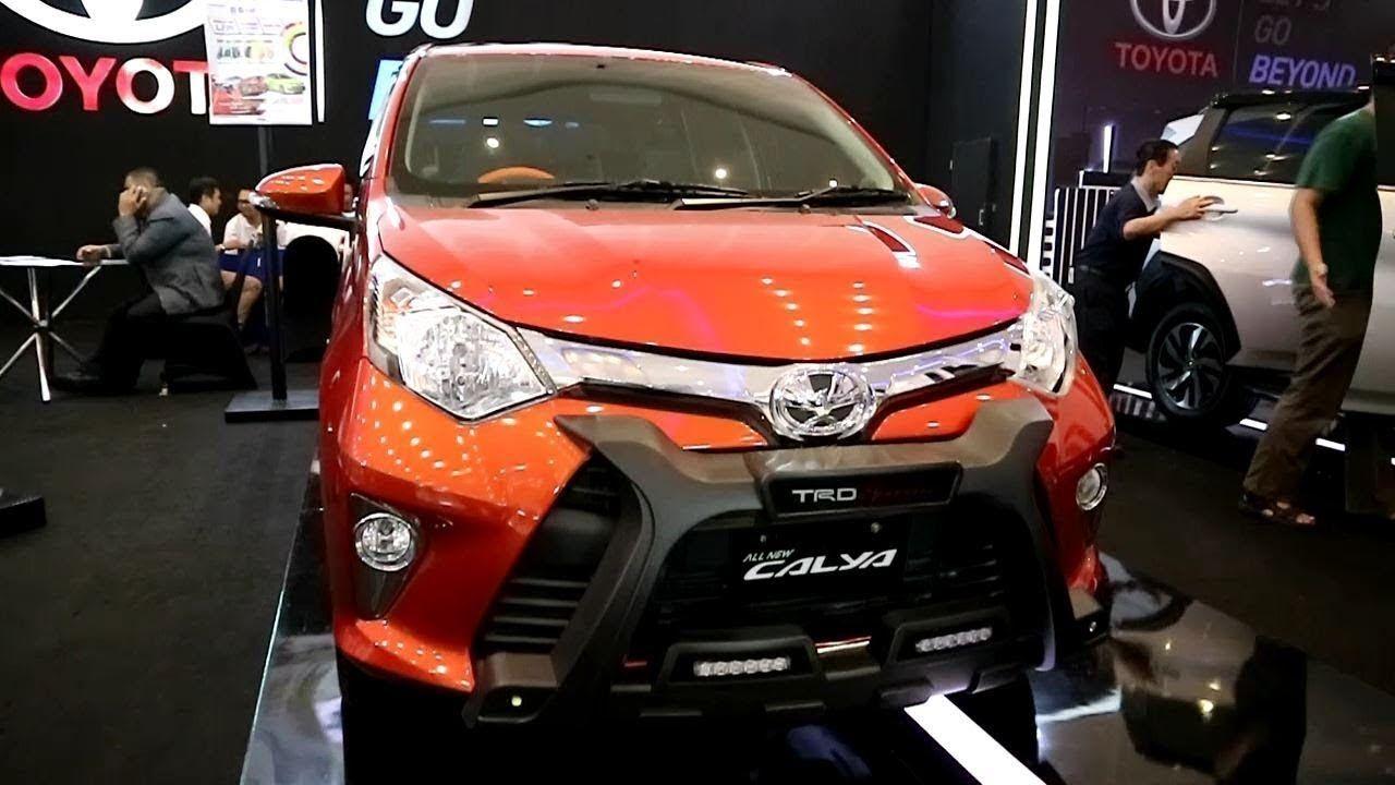 New Toyota Calya Trd Sportivo 2019 Modifikasi Mobil Mobil Toyota