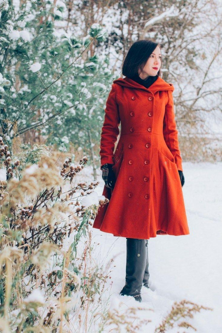 Photo of Beautiful & Warm Swing Coat for Winter Adventures in Wisconsin