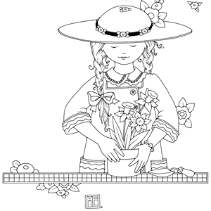 Mary engelbreit printable coloring pages ~ Mary Engelbreit Color Me pages | Coloring Pages for Callie ...