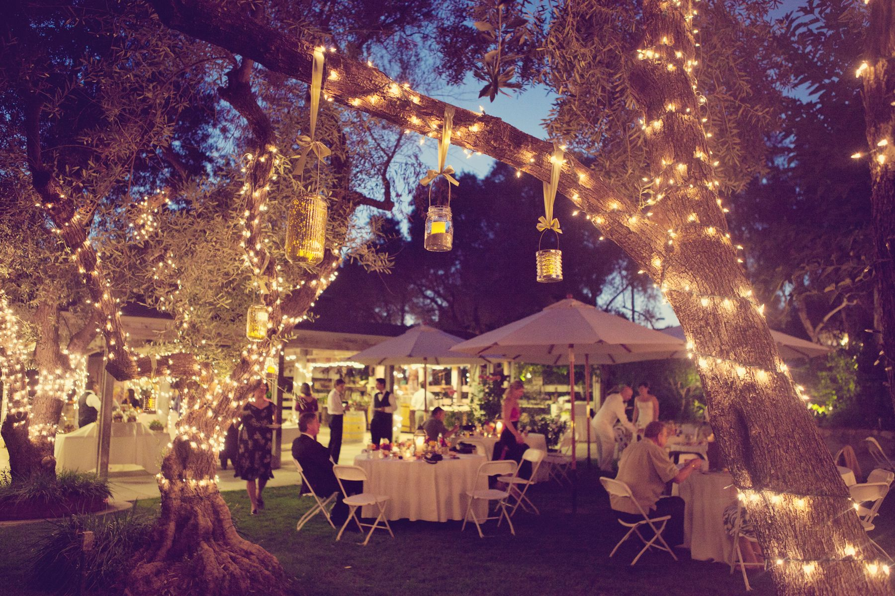 Outdoor Wedding Dianna S Was At Rosario Pavilion The Bernardo Winery It Such A Great Venue Lights Are Already Up