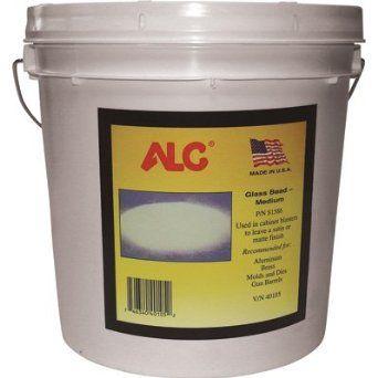 Amazon.com: ALC Medium Glass Bead Blasting Abrasive - 25 Lbs.: Home Improvement