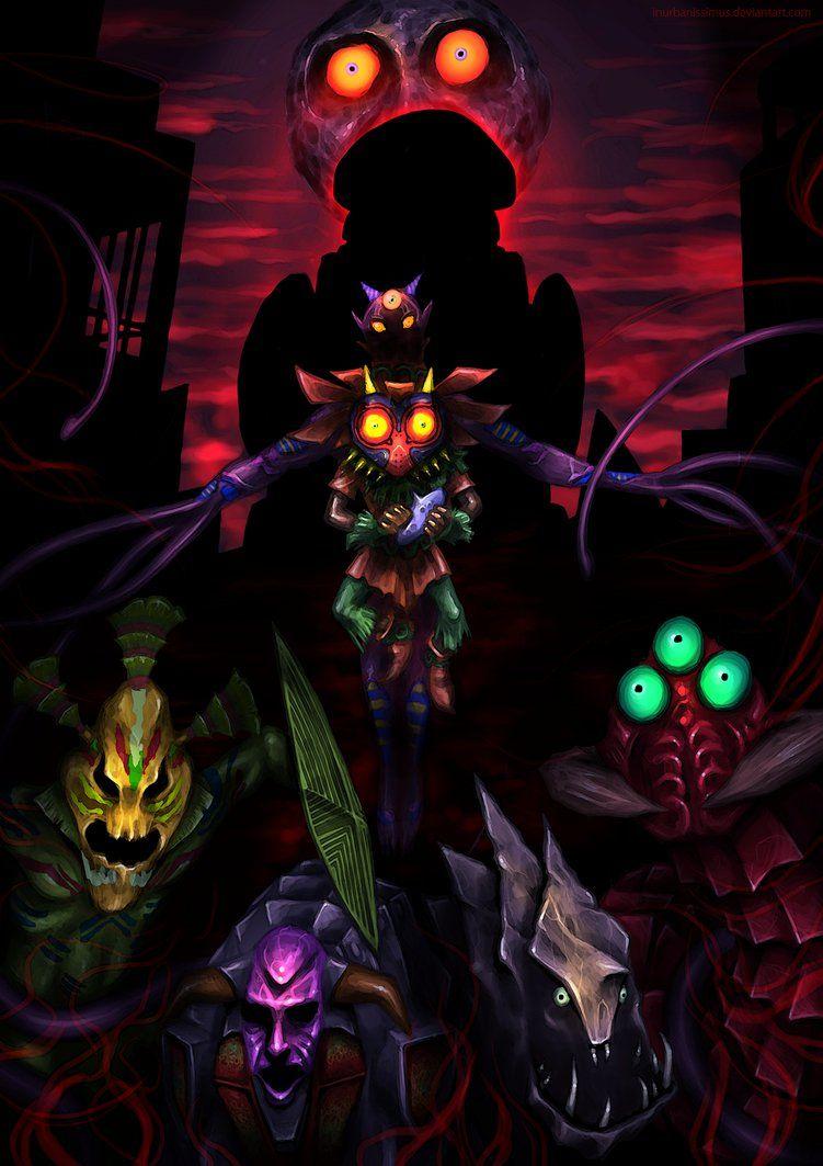 Pin On The Legend Of Zelda Majora S Mask The legend of zelda majoras mask