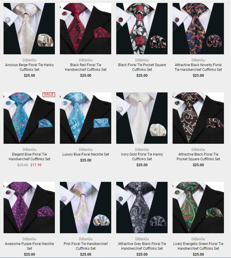 4360c8773d40 Buy products related to men's floral ties and see what customers say about  men's floral ties on DiBanGuStore FREE DELIVERY possible on eligible  purchases.