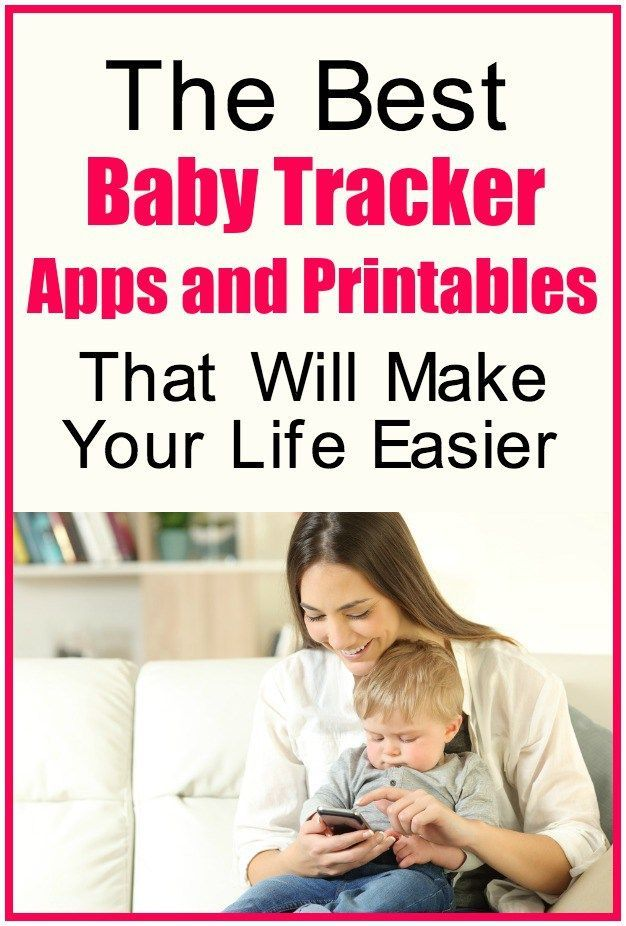 The Best Baby Tracker Apps and Printables That Will Make