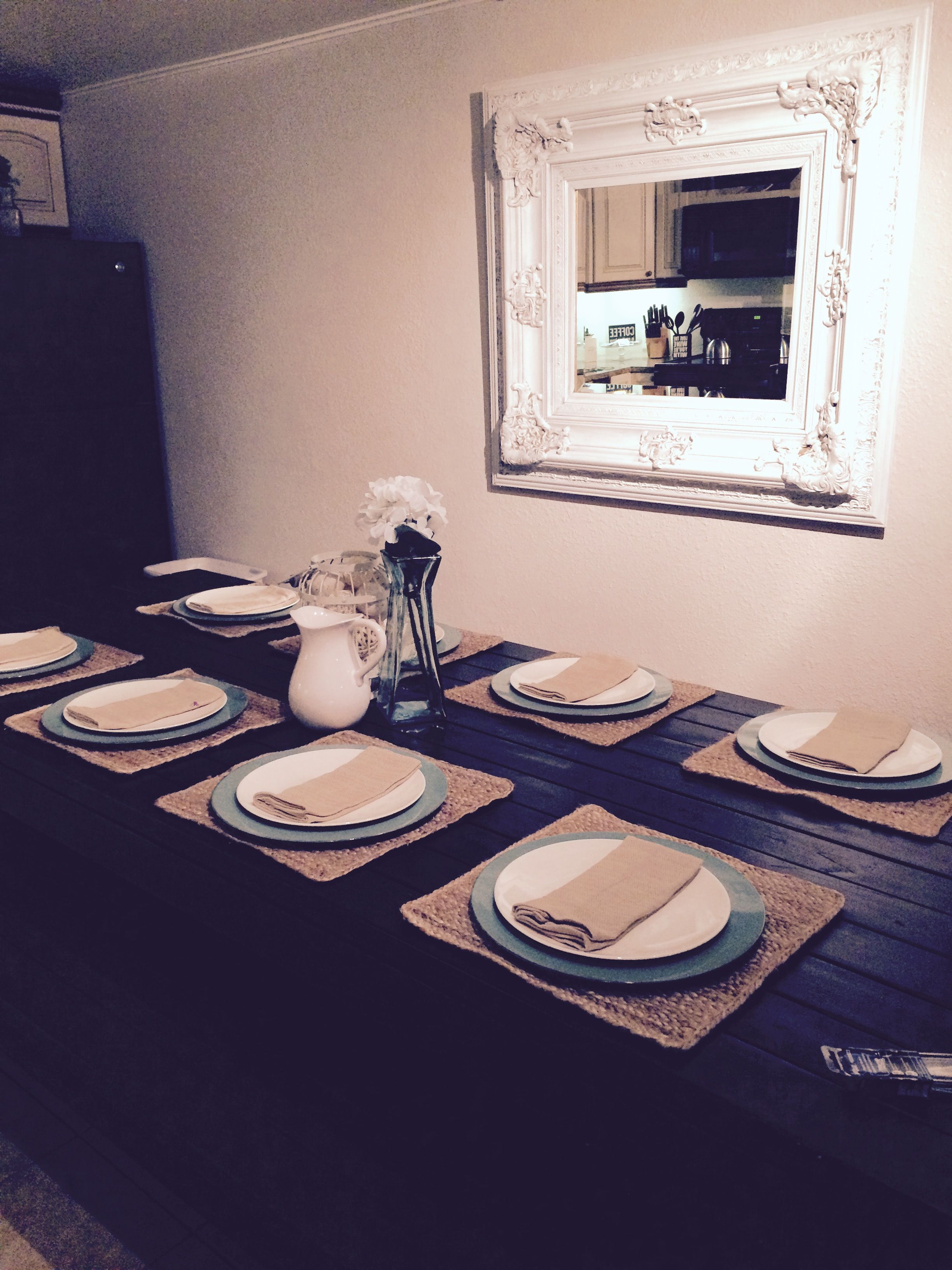 The dinner table is set and ready for you to enjoy! Find