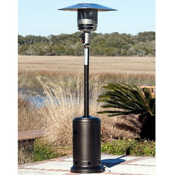 Genial Fire Sense Commercial Round Patio Heater   Mocha | WoodlandDirect.com:  Outdoor, Patio Heaters, Commercial Patio Heaters