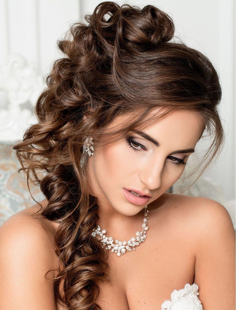 Peinados De Boda Muy Elegantes Para Cabellos Largos 2018 2019