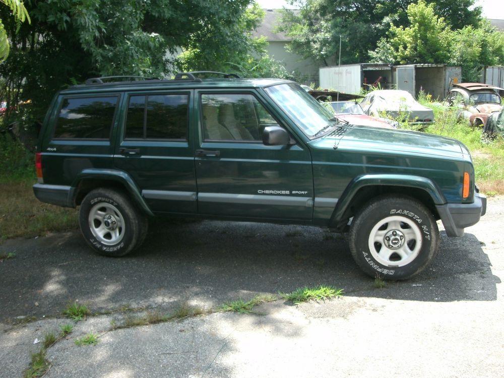 2000 Jeep Cherokee NO RESERVE 156K CHEROKEE SPORT 4.0L