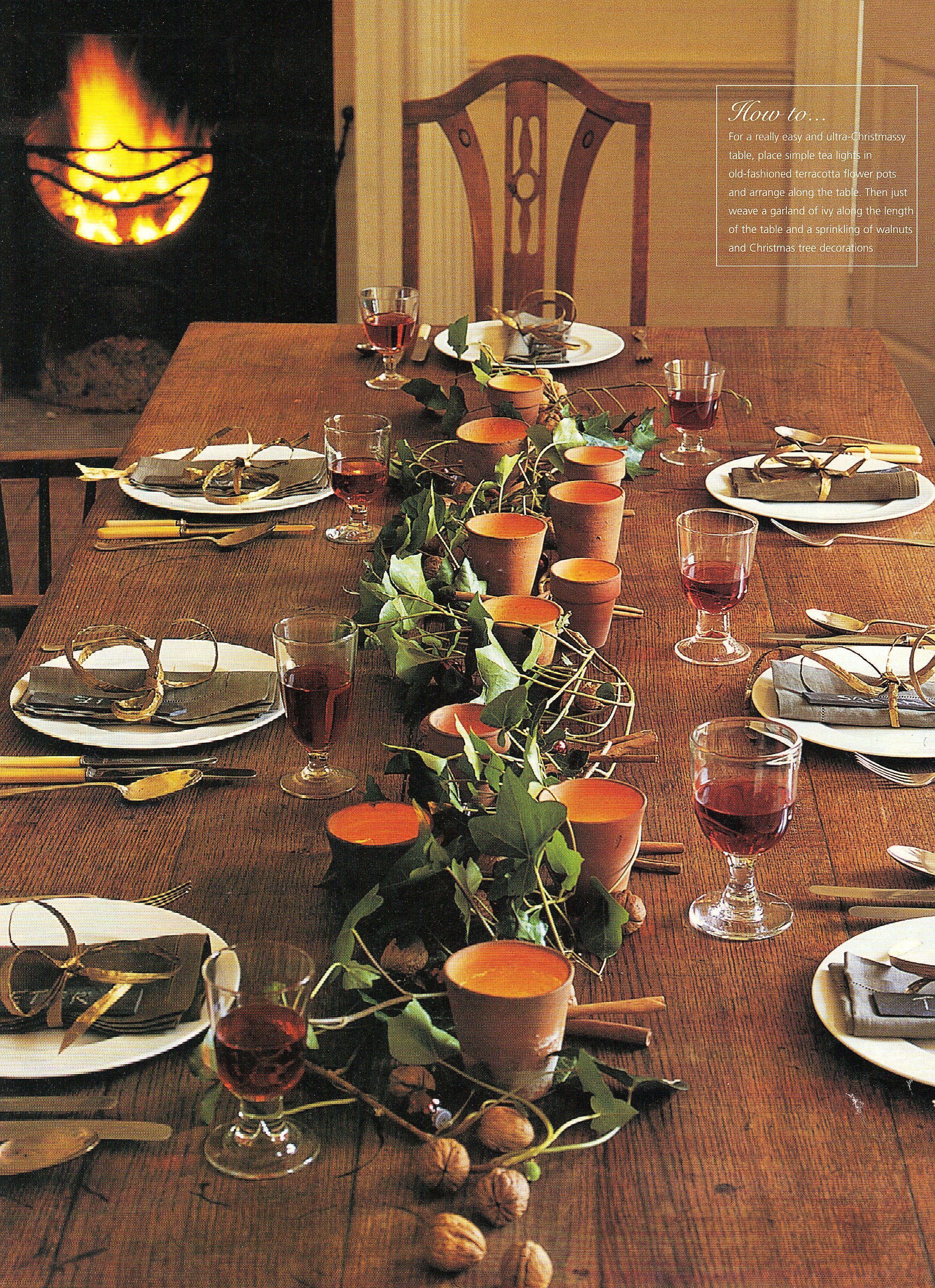 Alternative Christmas Tablescape Winter Inspiration