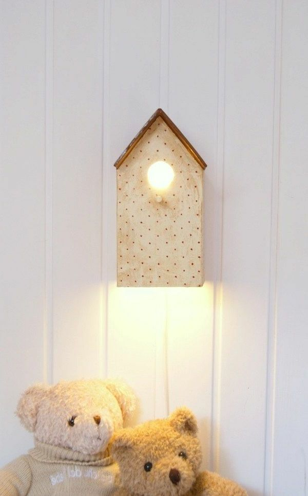 lampen-für-kinderzimmer-wie-ein-vogelhaus-aussehen | kinderzimmer, Schlafzimmer design