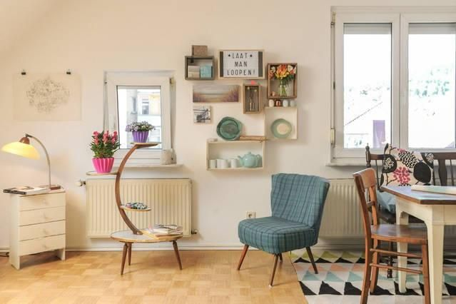 Super Gemütlicher Wohn /Essbereich Im Vintage Style #vintage # Wohnzimmerideen #einrichtung