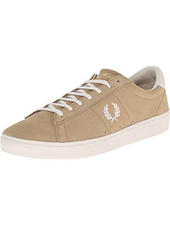 Fred Perry Men's Spencer Suede Fashion Sneaker, Warm Stone, 11 UK/12 M US ❤ Fred Perry