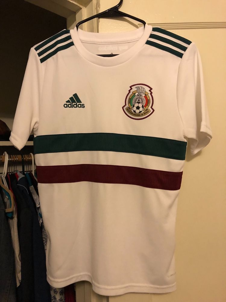 White Or Womens Jersey Large Authentic Youth Mexico Small Adidas xeQCoWBdr