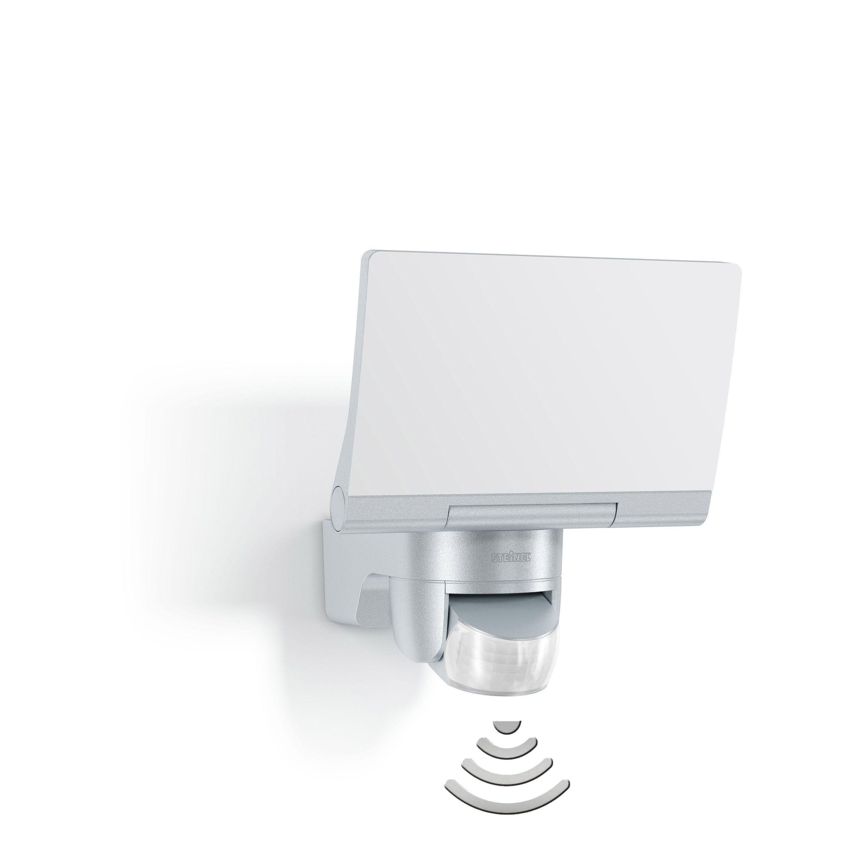 Projecteur A Detection Exterieur Led Integree 1184 Lm Argent Xled Home 2 Steinel Projecteur Led Et Argent