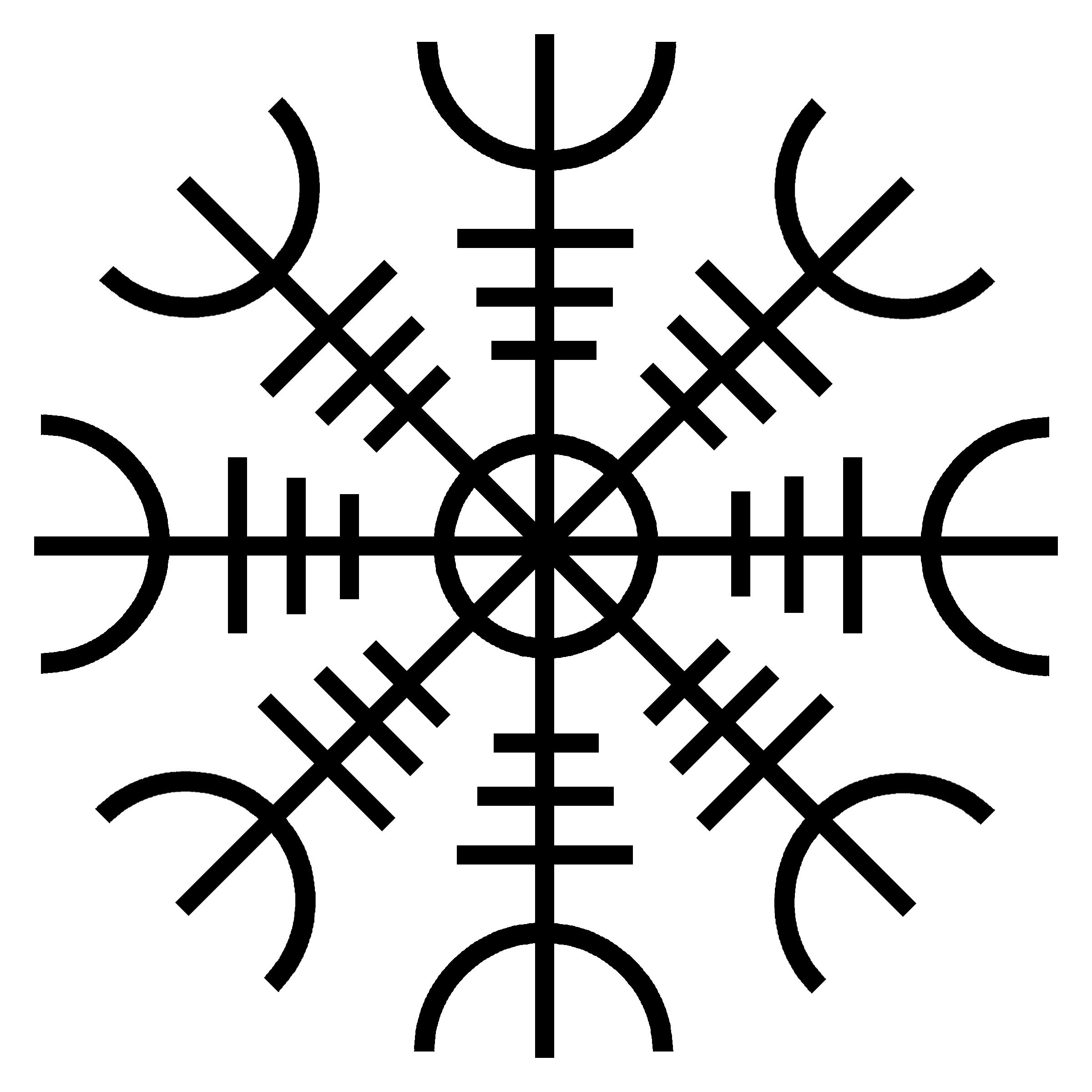 Aegishjalmur Meaning Aegishjalmur (Helm of Awe) for the