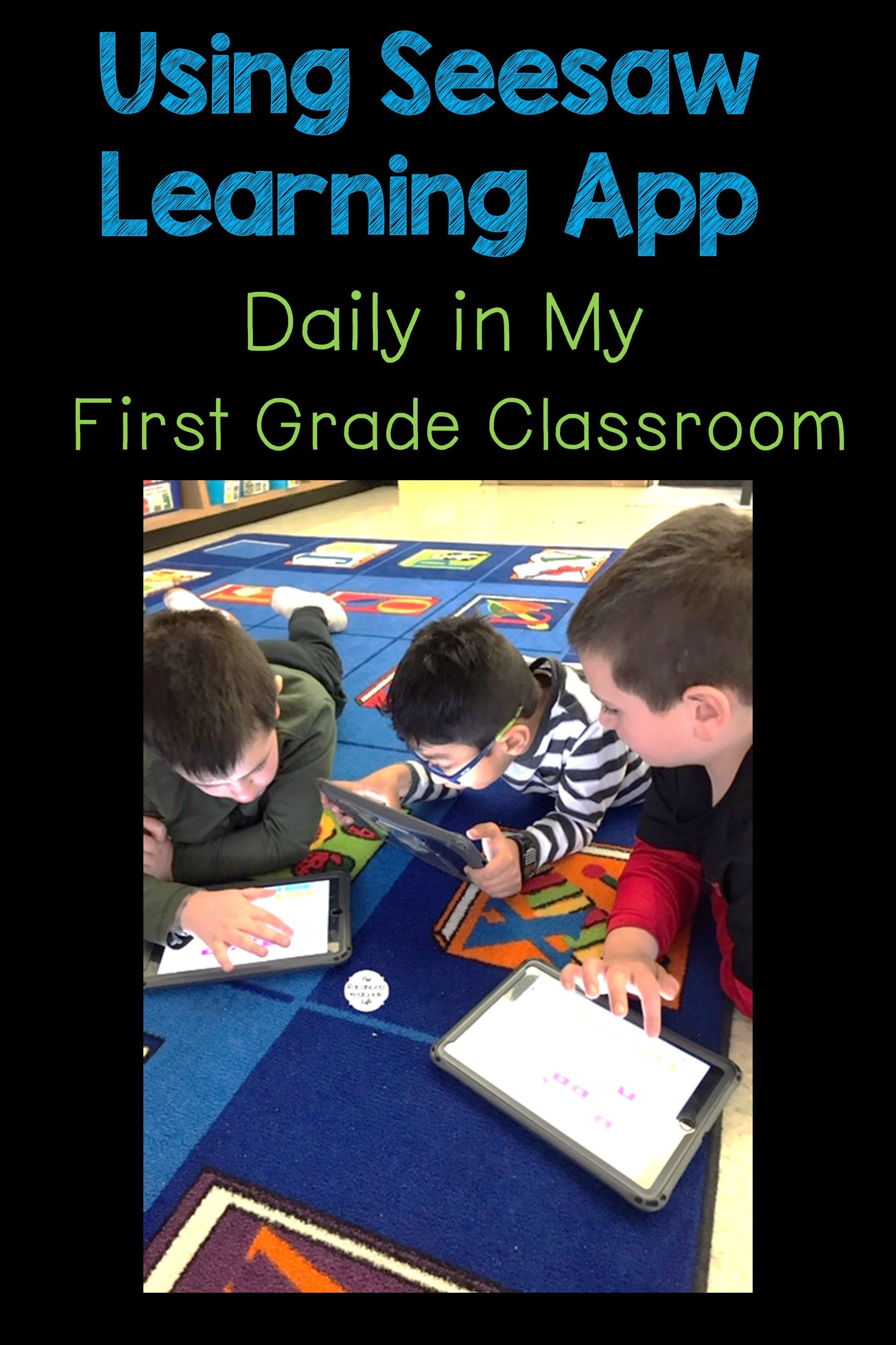 Learn how using Seesaw Learning App in my classroom