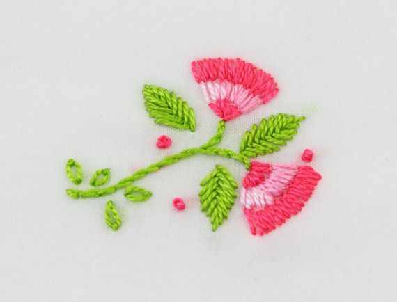 Flower embroidery design flower fancy hand embroidery flowers