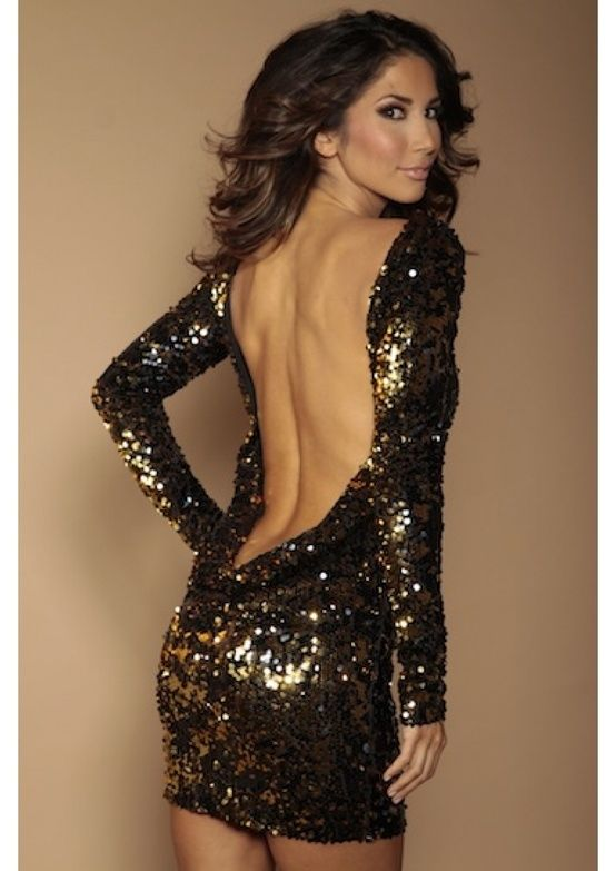 Backless dress by camille.colquhoun
