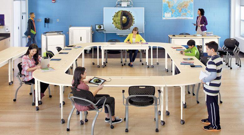 bretford 미국 스마트 교육환경..현재 판매되는 제품. 놀랍다~